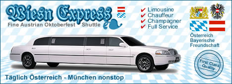 Wiesnexpress - Limousinen, Transfer Taxis und Wiesn Shuttle Service